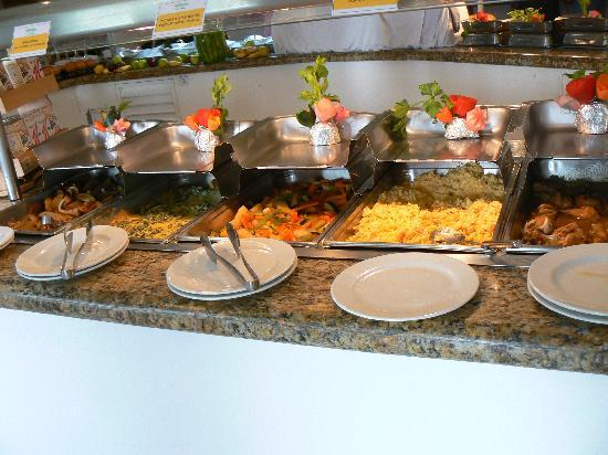 Holiday Inn Cancun Arenas : Buffet matin2 
