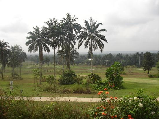 Le Meridien Ibom Hotel &amp; Golf Resort: Tropical paradise