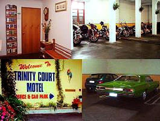Trinity Court Motel: Trinity- Covered Carpark