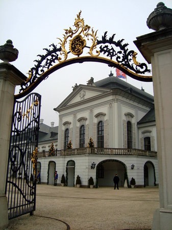 Bratislava, Slovakia: President&#39;s palace