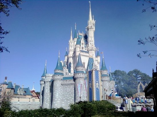 Kissimmee, FL: another view of the castle