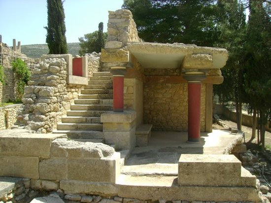 Heraklion, Grekland: Knossos 1