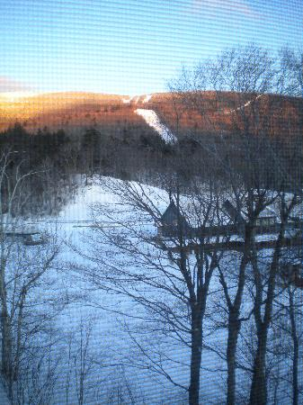 Sugarbush Village Condominums: slopes from the window