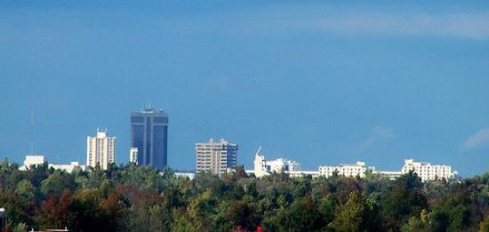 Springfield, Missouri skyline