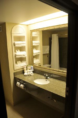 Holiday Inn Express Cooperstown: Bathroom