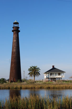 Galveston, Техас: Bolivar Lighthouse