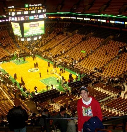 Where The Boston Celtics Play Found It When We Were Super Lost Picture Of Td Garden Boston