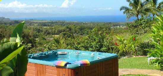 Maui Tradewinds: Private ocean-view Jacuzzi