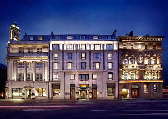 The Westin Dublin Hotel Exterior