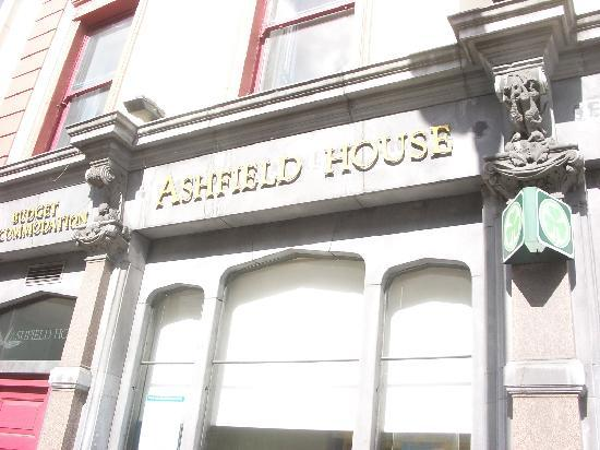 Ashfield House: L&#39;ingresso!