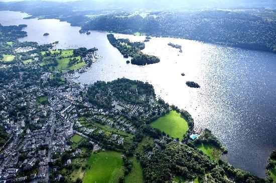 Bowness aerial photo