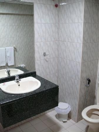 Arusha Crown Hotel: bathroom