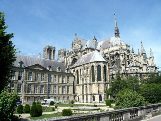 Reims, France: katedrála Notre Dam v Remeši
