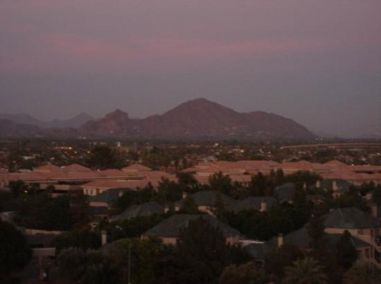 Sunset Camelback Mountain Sunset View of Camelback
