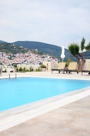 Skopelos Village: Hotel