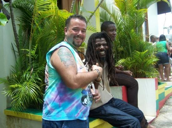 St. Ann's Bay, Jamaica: Captain Crazy this man's laugh is like no other!!!