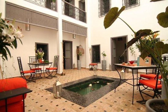 Les jardins de Riad Laarouss
