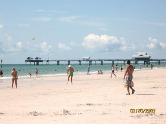 Ocala, Floryda: Clearwater Beach with Pier 60 in the background