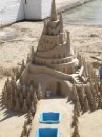 Sand art: From Review: Pollensa Park Hotel has everything you need for a