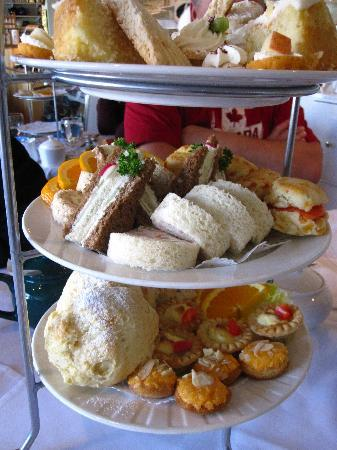 "White Heather Tea Room: ""The Big Muckle"" for 4"