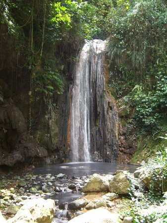 Photos of Diamond Waterfalls, Soufriere