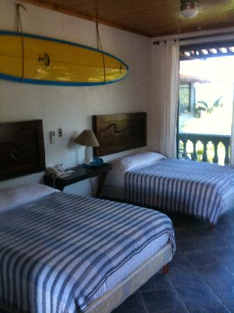 Witch's Rock Surf Camp: Room with Balcony