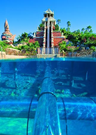 Tower Of Power Siam Park Video Of Adeje Tenerife