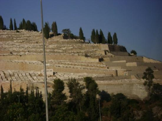 The Mount Of Olives Is Mostly Covered In Graves Today In