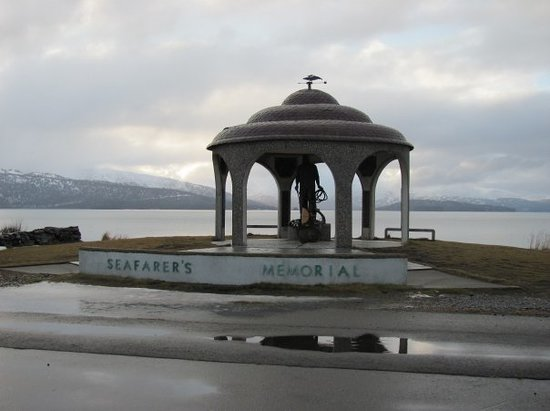 Homer, AK: Seafarers Memorial