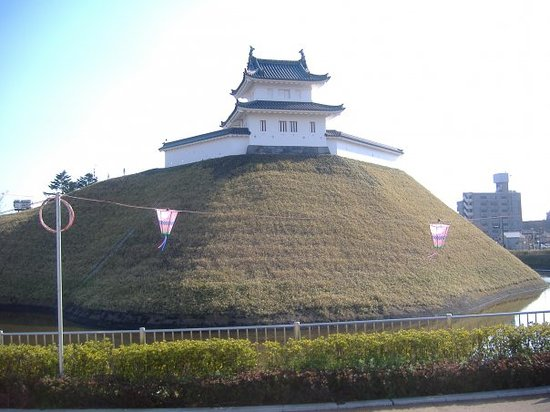 Utsunomiya Castle Ruins Park; it's south of the main street near the city hall.
