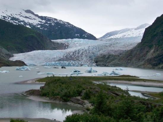 Sitka, : Mendenhall glacier