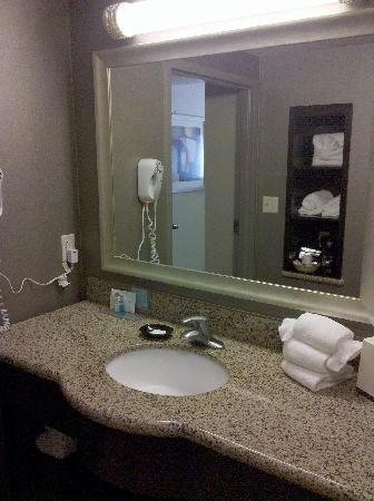 Hampton Inn & Suites San Diego Poway: Nicely appointed bathroom