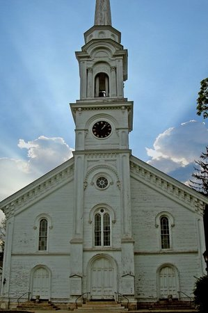 , : 200+ year old church, Lee MA