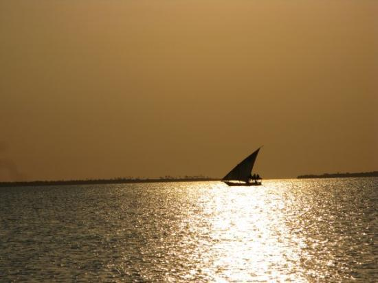 Nungwi, Tanzania: Tramonto a Zanzibar