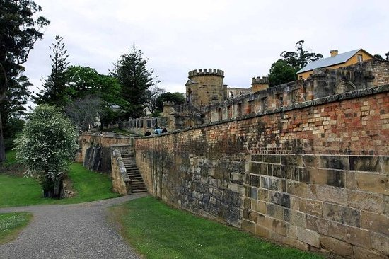 pousadas de Port Arthur