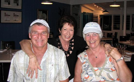 Reflections of Port Douglas: JOHN, CARMEL &amp; MYSELF