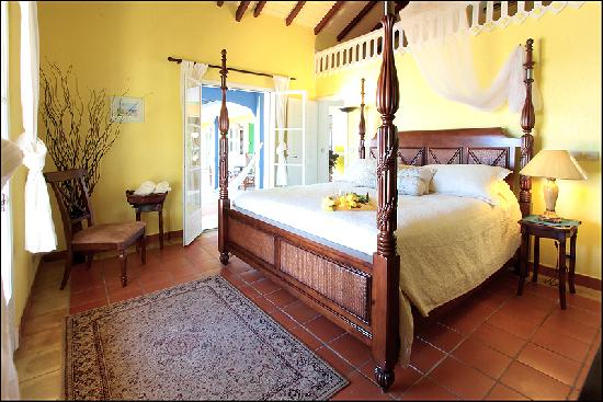 Club Fantastico: Some of the most beautiful rooms in St. Martin
