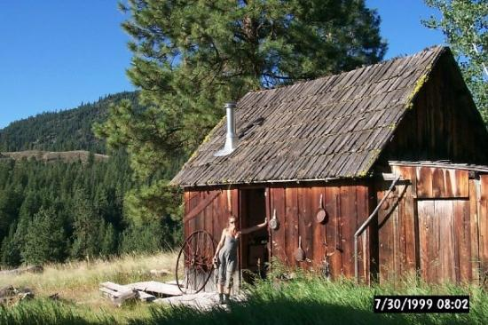 1999 settler 39 s cabin winthrop methow valley wa for Winthrop cabin rentals