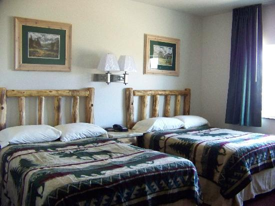 North Park Inn & Suites: 2 beds in new motel