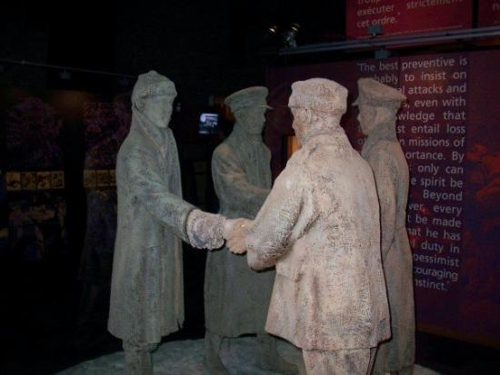 Ieper (Ypres), Belgium: Christmas truce - Flanders
