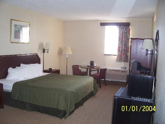 Quality Inn Jonestown: i had 2 beds in my room