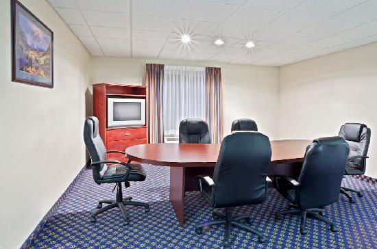 Holiday Inn Express: Need to meet with a client but don't want to have them in your room? Ask about our Board room, p