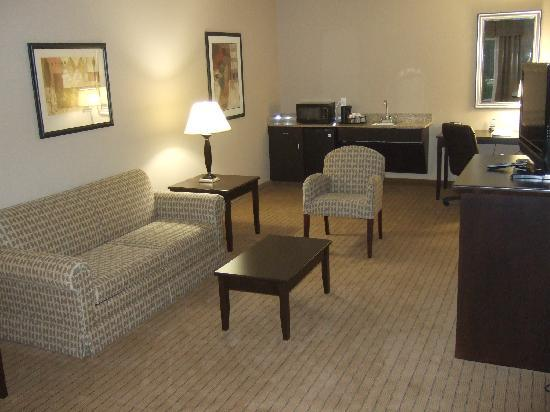 Holiday Inn Express & Suites Fort Myers- The Forum: Another view of Lounge area suite 302
