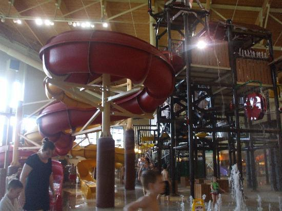 Great Wolf Lodge: Jr. Water Slide Tower