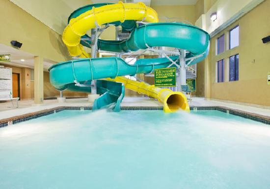 Holiday Inn Kearney: Try our indoor water center!