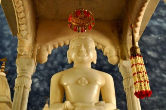 Inside one of the biggest Temples in Jabalpur