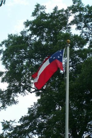 Montgomery Photo: First Confederate Flag, now flying over Alabama State Capitol