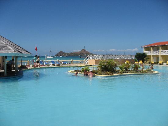 Papillon Pool Picture Of St Lucian By Rex Resorts Gros