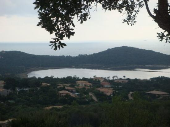 Porto-Vecchio, France: The view from the house