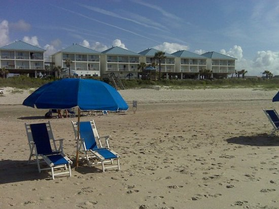 Ocean Isle Inn: Best seat in the House